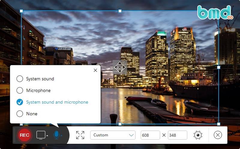 Phần mềm quay video trên máy tính Apowersofr Unlimited