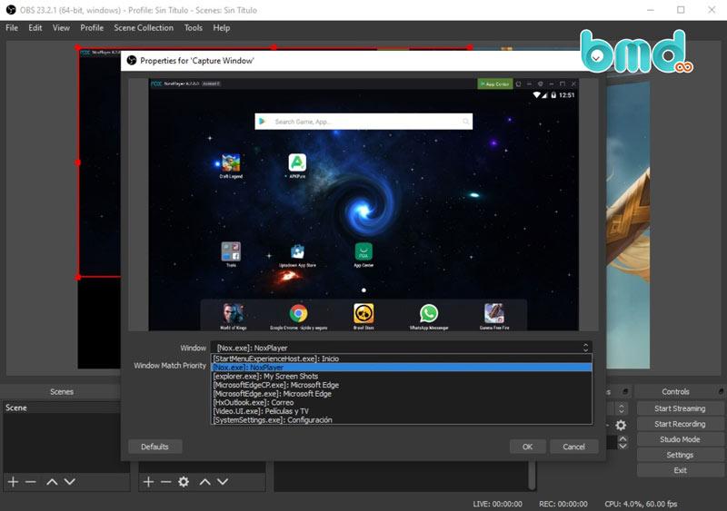 Phần mềm quay phim màn hình OBS Studio