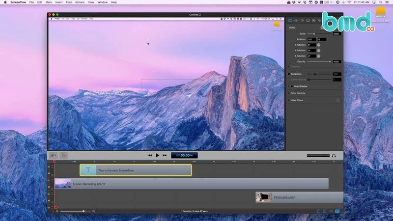Phần mềm quay màn hình ScreenFlow