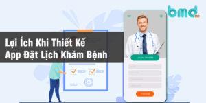 Thiết kế app đặt lịch khám bệnh