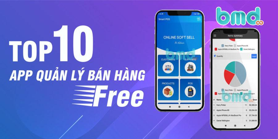 10 App Quản Lý Bán Hàng Miễn Phí Trên Android, iPhone