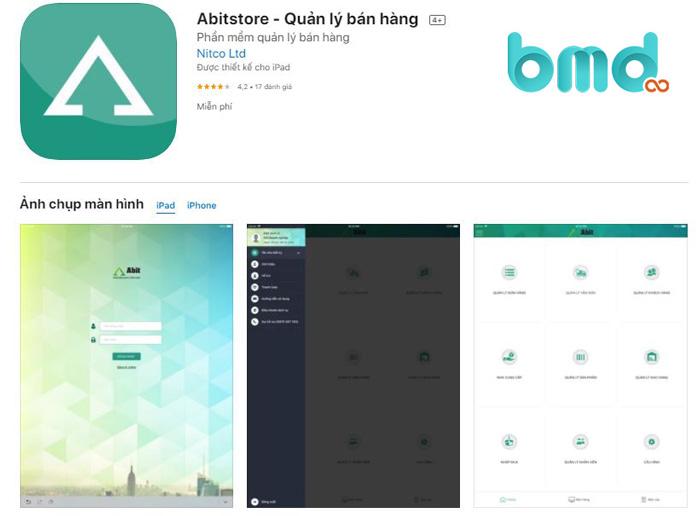 App quản lý bán hàng Abit