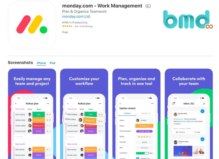 App monday.com