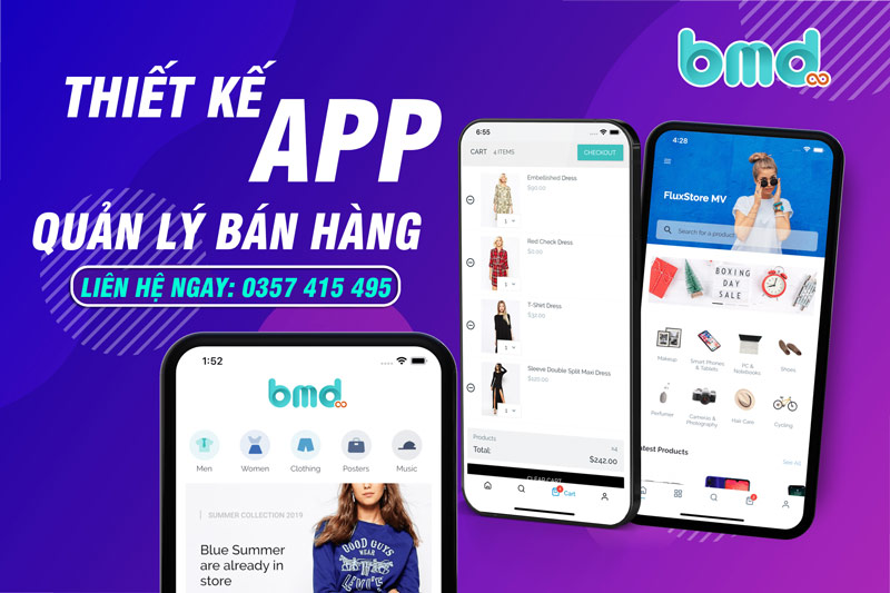 BMD Thiết kế app quản lý bán hàng