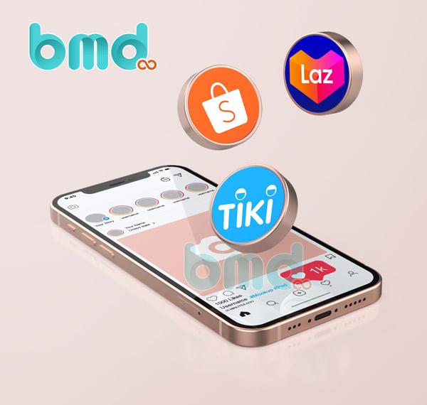 App bán hàng nổi tiếng