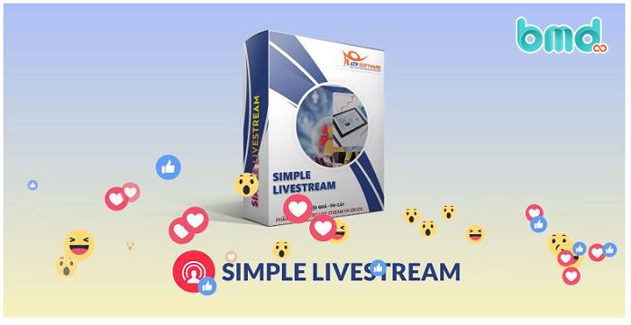 Ứng dụng live stream bán hàng Smple liveStream