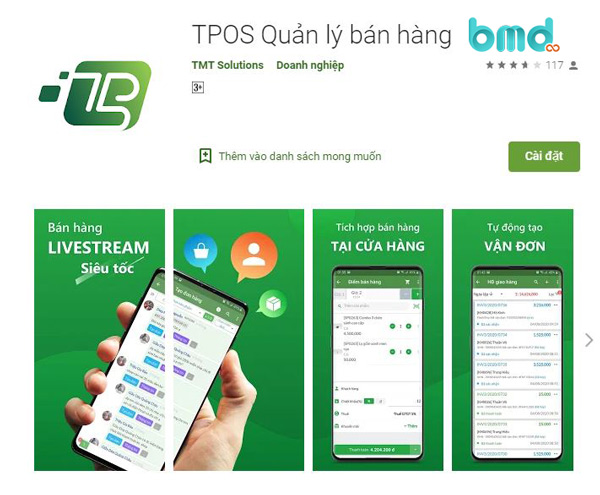Phần mềm Tpos