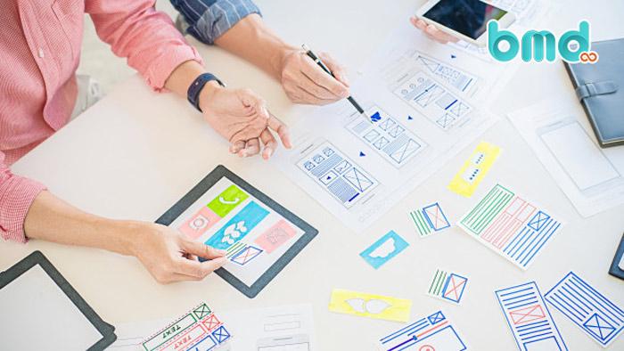 Thiết kế UX cần sử dụng các yếu tố tiêu chuẩn