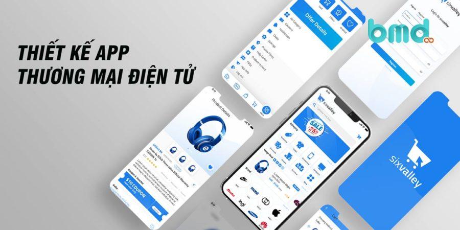 Thiết Kế App Thương Mại Điện Tử Chuyên Nghiệp
