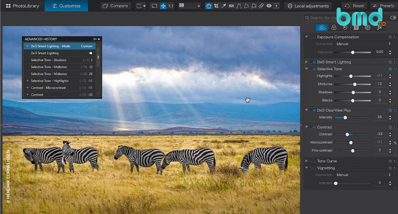 Phần mềm sửa ảnh DxO PhotoLab 4