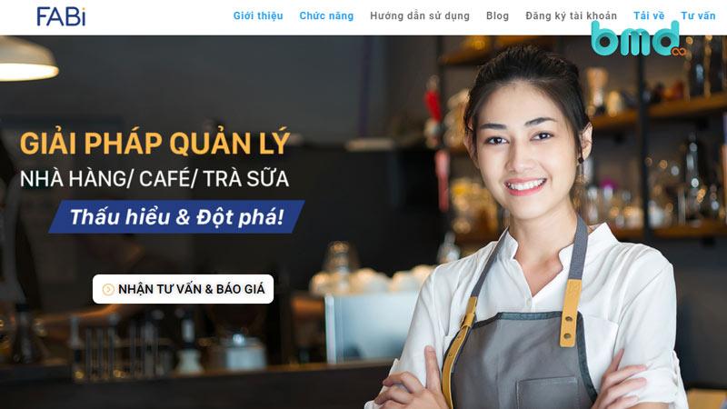 Phần mềm quản lý nhà hàng FABi