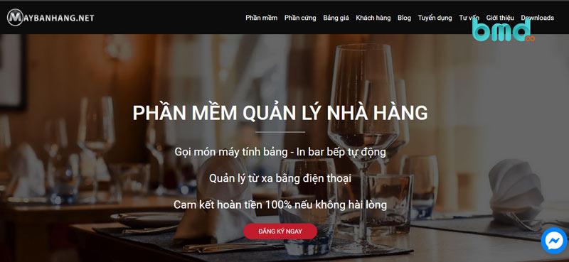 Trang chủ của maybanhang.net