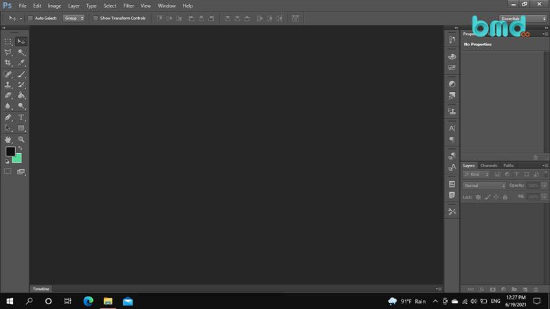 Phần mềm thiết kế nội thất Photoshop