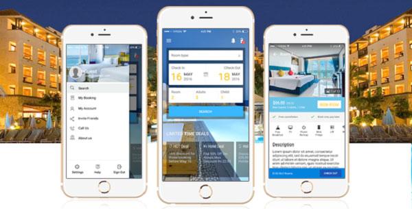 App booking khách sạn