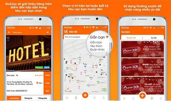 App booking khách sạn theo giờ