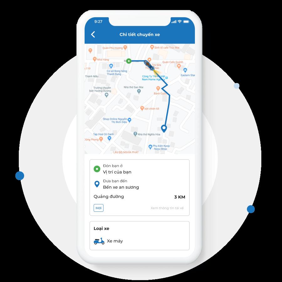 App dành cho tài xế
