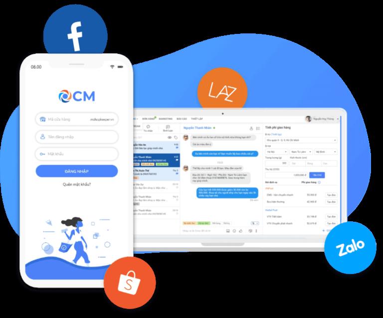 App quản lý bán hàng ios Misa eShop