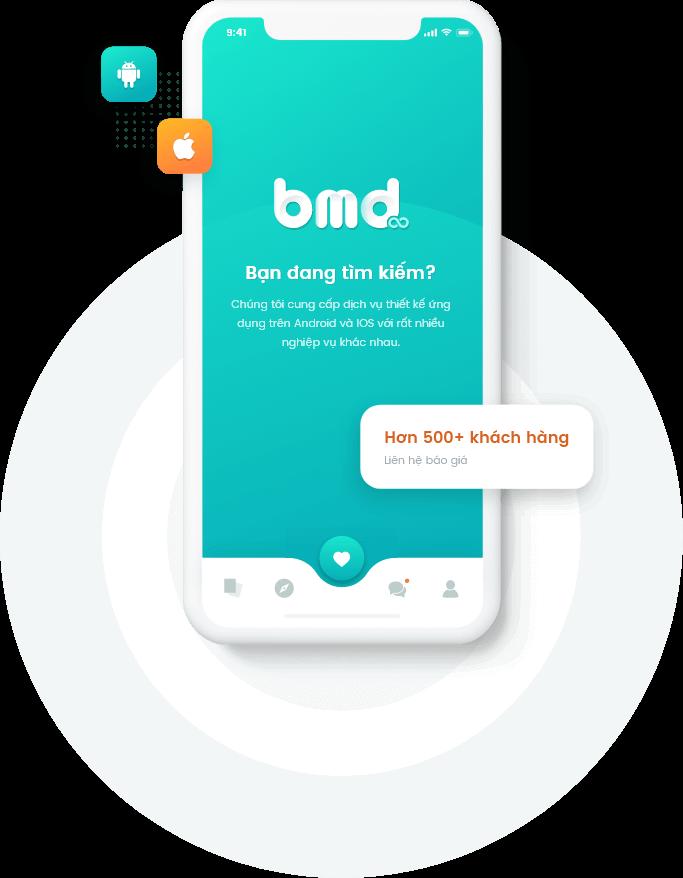 Khách hàng gia công phần mềm tại BMD