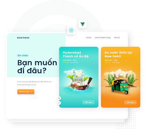 BMD phát triển ứng dụng booking khách sạn