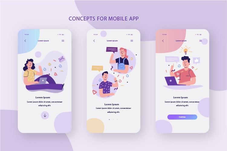 Dịch vụ thiết kế app tại BMD