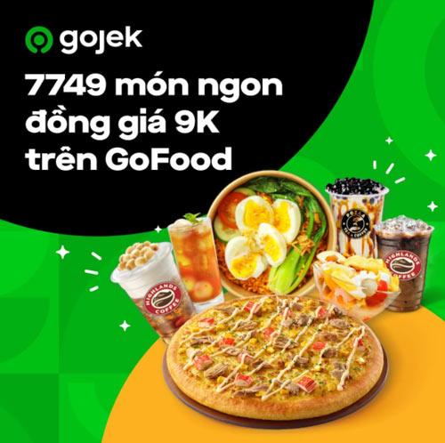 Chương trình khuyến mãi trên app Gojek