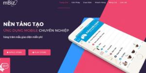 Nền tảng tạo app bán hàng
