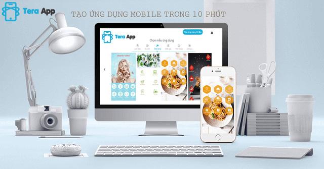 Tạo app bán hàng bằng Teraapp