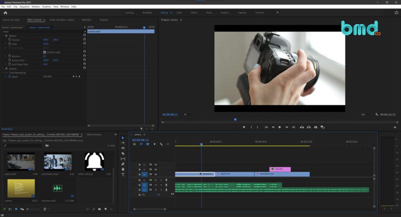 Phần mềm edit video Adobe Premiere Pro