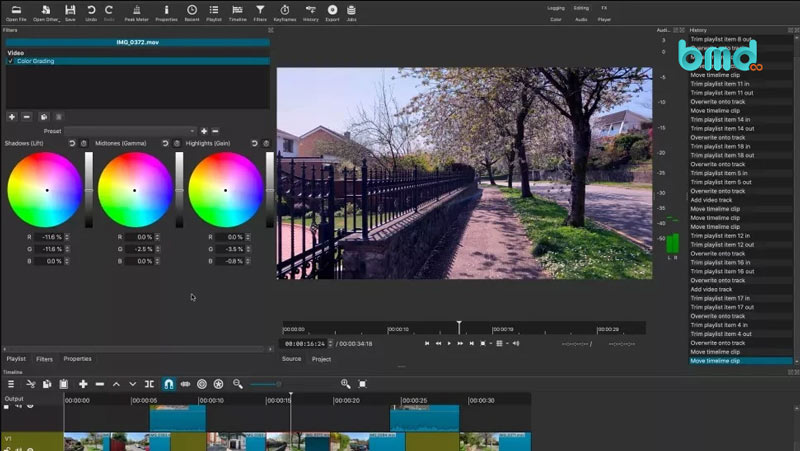Phần mềm chỉnh sửa video miễn phí Shotcut