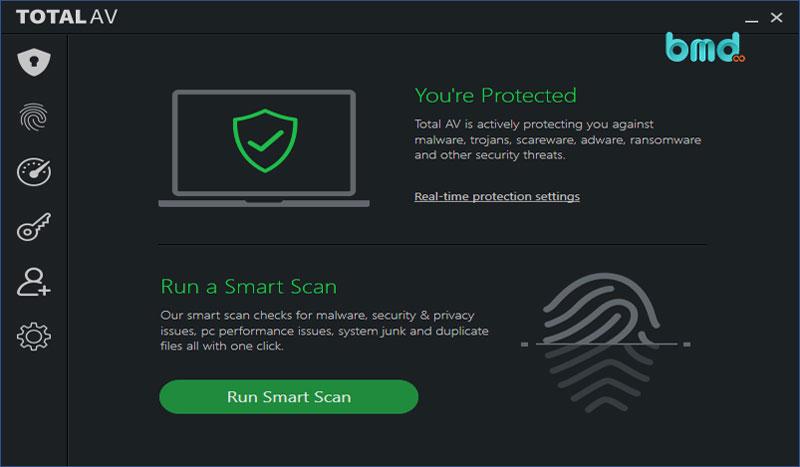 Phần mềm diệt virus miễn phí TotalAV