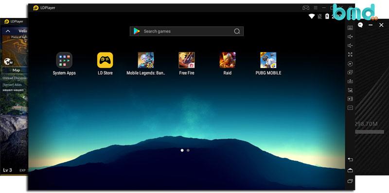 Phần mềm giả lập Android nhẹ LDPlayer