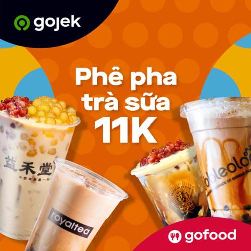 Ưu đãi trên ứng dụng giao đồ ăn Gojek