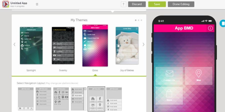 Hướng dẫn tạo App trên Swiftic