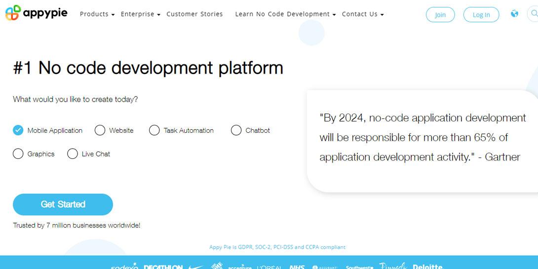 Hướng dẫn tạo App trên Appy Pie AppMakr