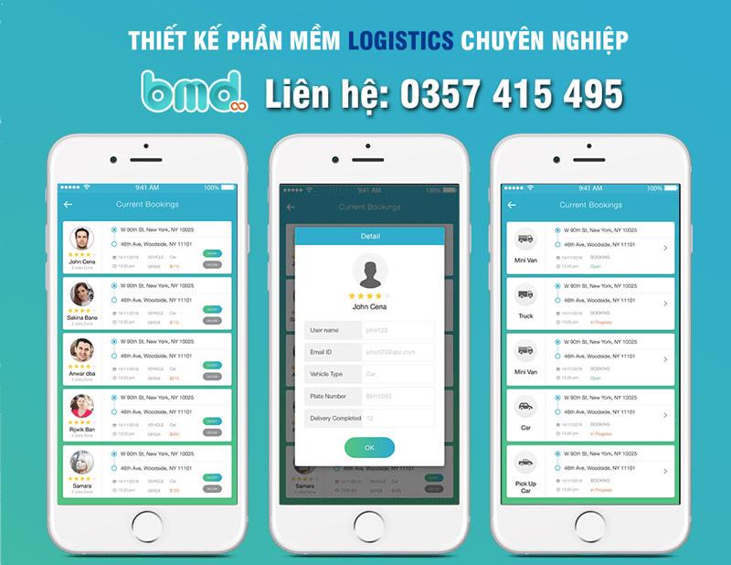 BMD phát triển phần mềm logistics
