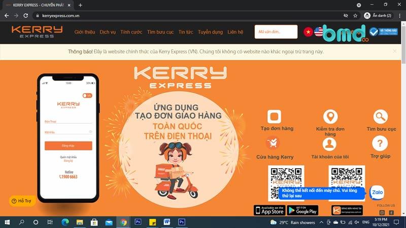 Công ty chuyển phát nhanh Kerry