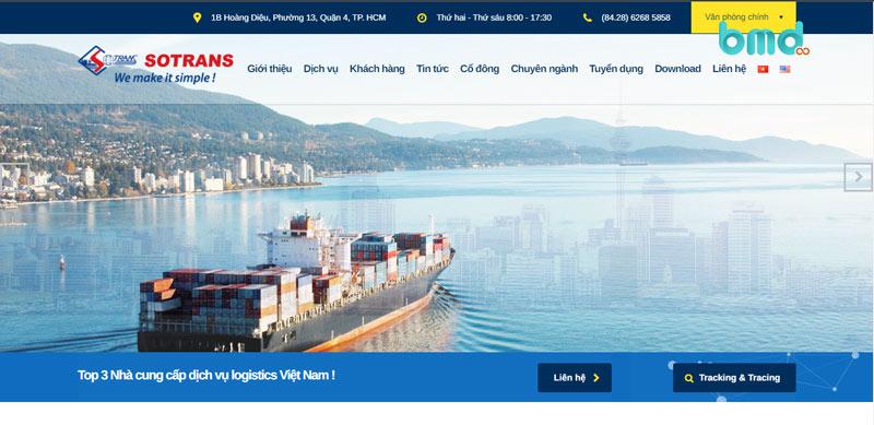 Công ty logistics sotrans