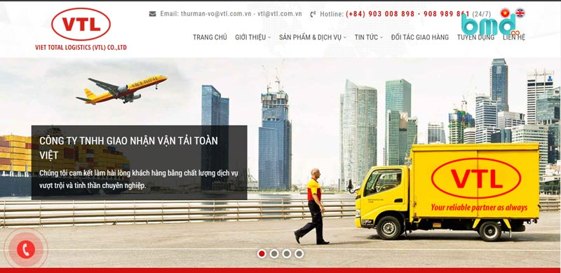 Công ty logistics Toàn Việt