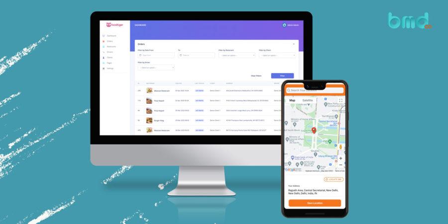 Phát triển, thiết kế app giao đồ ăn chất lượng cho Android và iOS