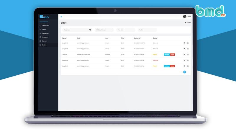 Quản lý đơn hàng bằng phần mềm