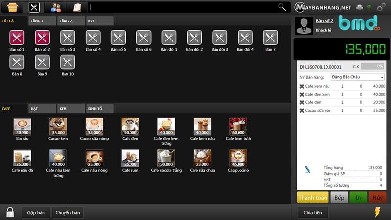 Phần mềm quản lý đơn hàng miễn phí maybanhang.net