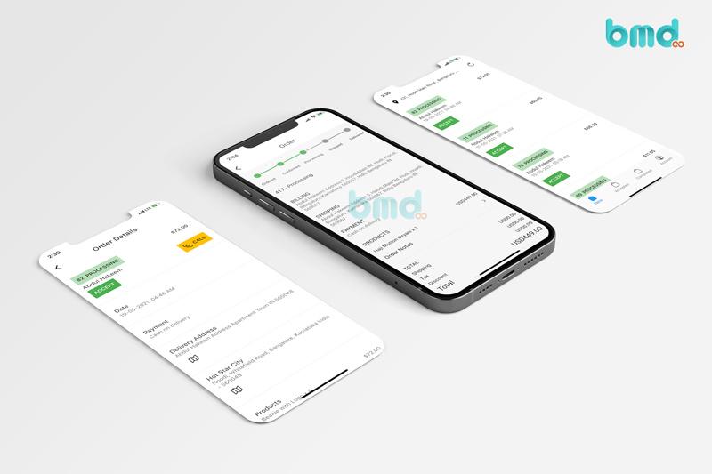 Phát triển app giao hàng