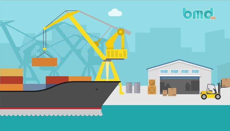 Quuy trình giao nhận hàng hóa bằng đường biển